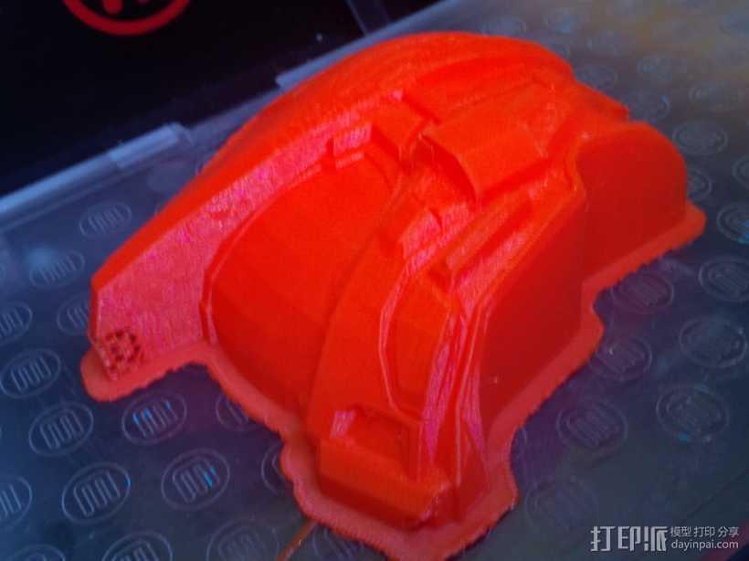 Halo头盔 3D打印模型渲染图