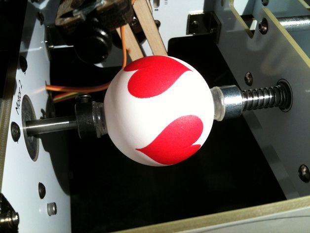 心形小球模型 3D打印模型渲染图