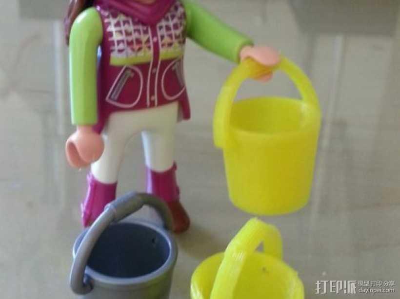 百乐宝水桶模型 3D打印模型渲染图