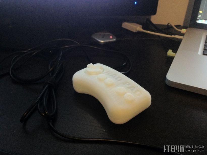 USB总控制器模型 3D打印模型渲染图