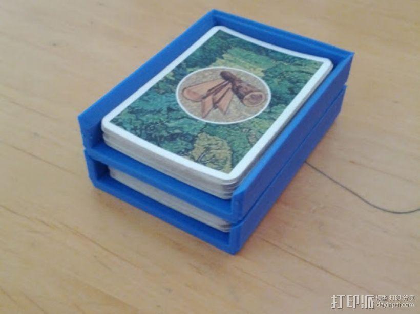 游戏卡卡盒模型 3D打印模型渲染图