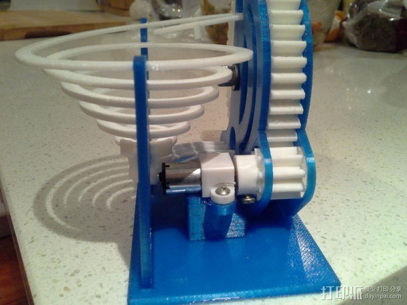 机动化联动装置额外配置 3D打印模型渲染图