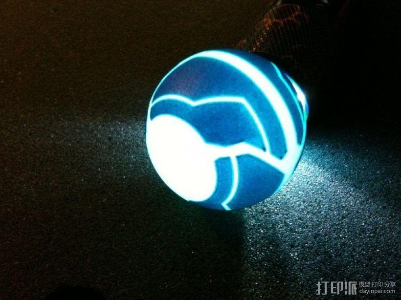 迷你变形球模型 3D打印模型渲染图