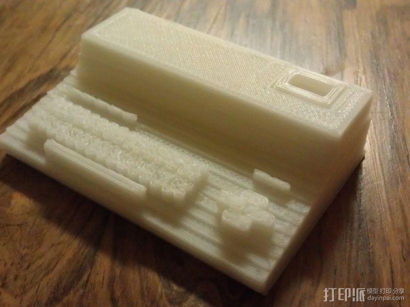 MZ-821迷你电脑 3D打印模型渲染图