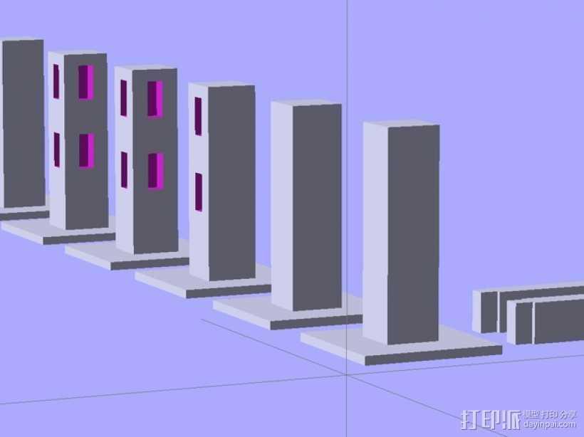 Minecraft:栅栏 3D打印模型渲染图