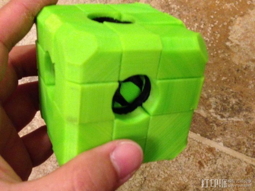 Rubiks空心魔方 3D打印模型渲染图