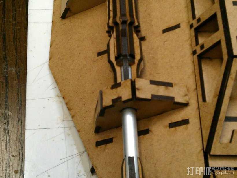 雪地加速器模型 3D打印模型渲染图