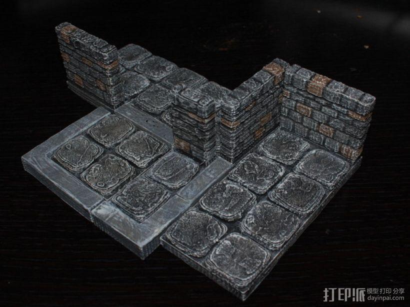 OpenForge边缘缓冲区域 3D打印模型渲染图