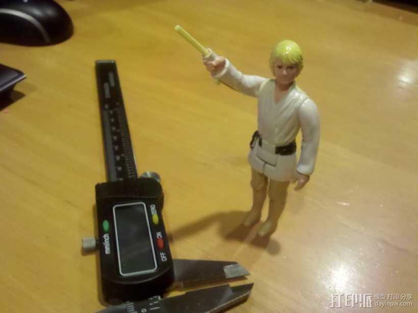 卢克·天行者:光剑 3D打印模型渲染图