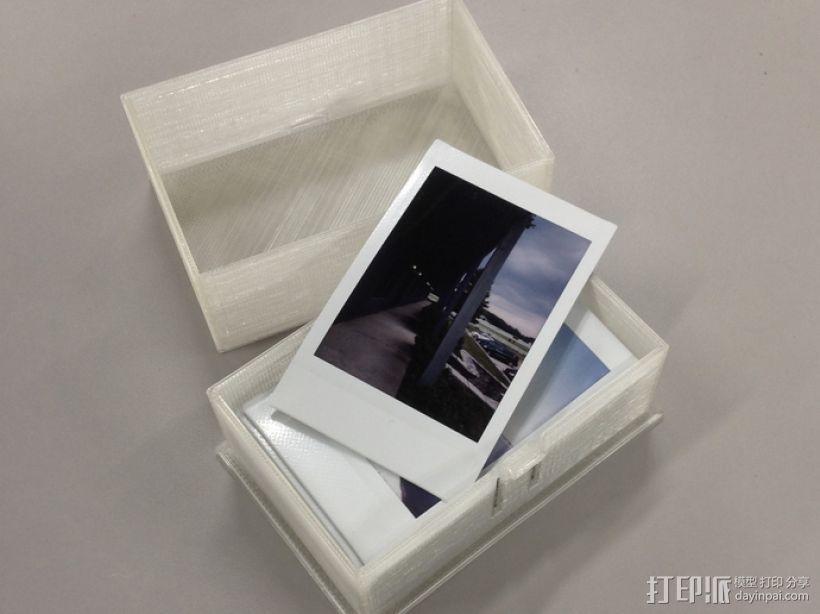 参数化的卡片盒模型 3D打印模型渲染图