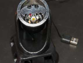 蝙蝠型LED照明灯