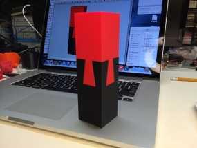 鸠尾榫立方体模型