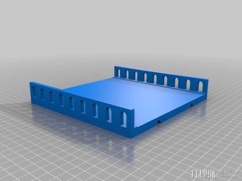 模块化的天桥模型 3D打印模型渲染图