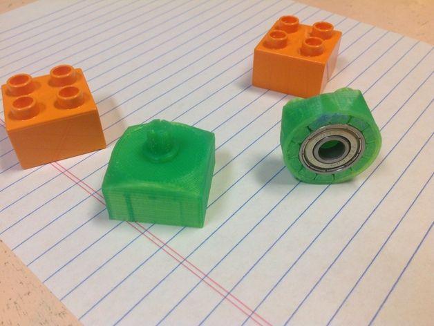 得宝玩具积木方块模型 3D打印模型渲染图