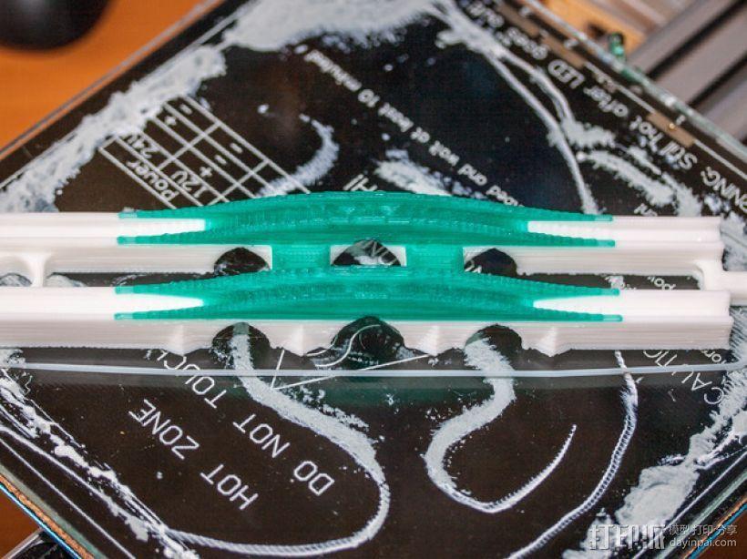 玩具火车桥模型 3D打印模型渲染图