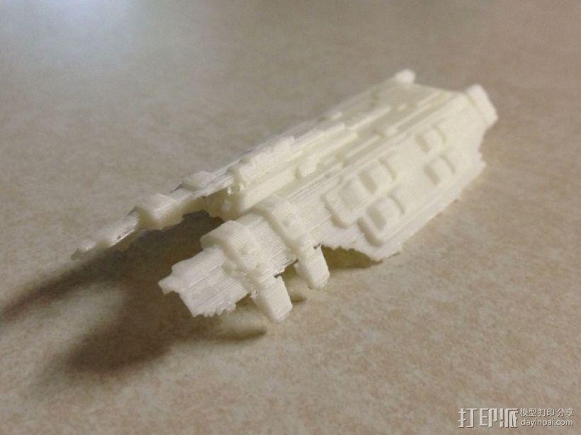 星战前夜:德雷克巡洋舰 3D打印模型渲染图