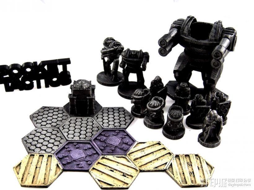 Pocket-Tactics:神圣骑士 3D打印模型渲染图
