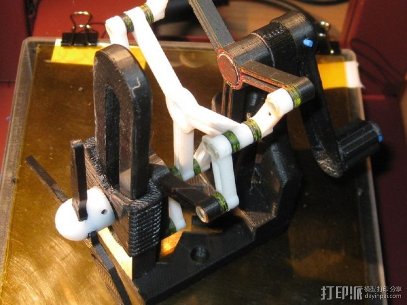 施密特偏心联轴器模型 3D打印模型渲染图