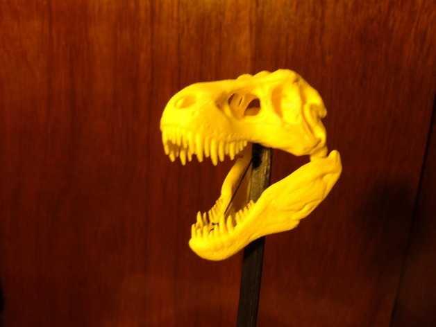 恐龙玩偶Rex模型 3D打印模型渲染图