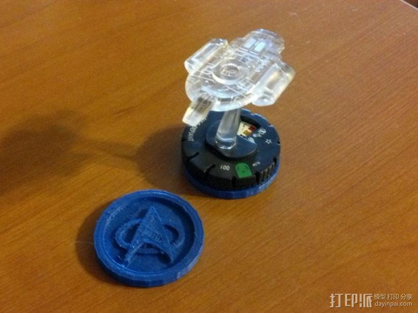 《英雄战棋》游戏筹码模型 3D打印模型渲染图