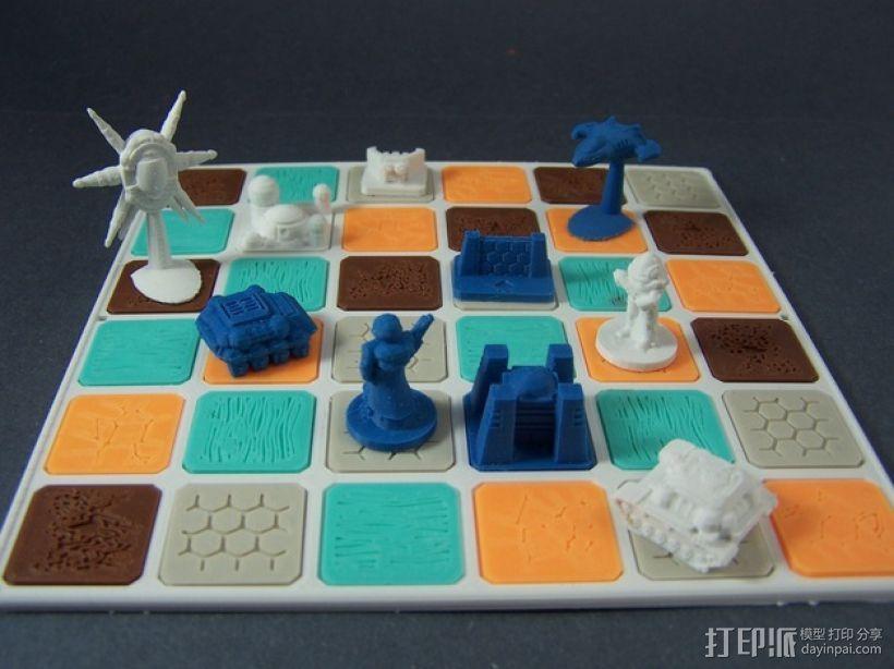 ZoneS战略游戏模型 3D打印模型渲染图