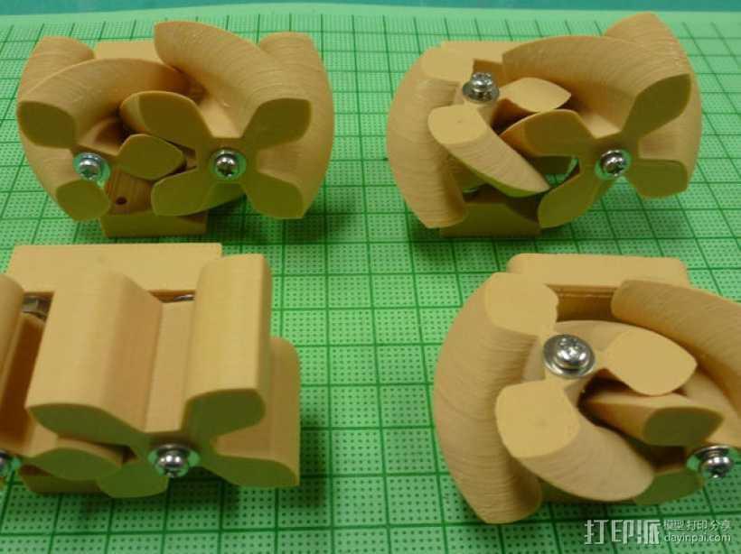 圆形正/斜齿轮模型 3D打印模型渲染图