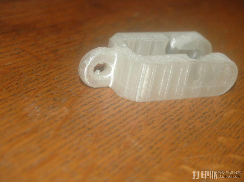 迷你滑轮模型 3D打印模型渲染图