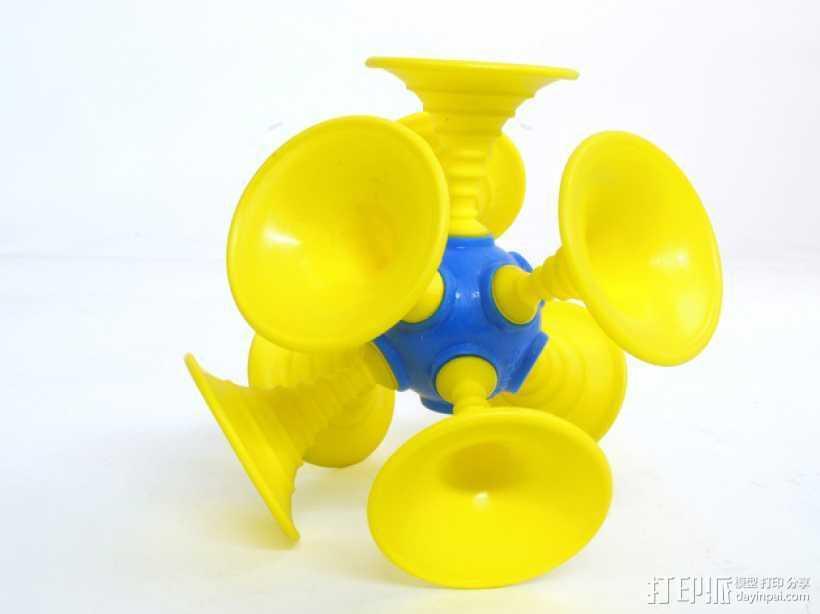 Ogo喇叭模型 3D打印模型渲染图