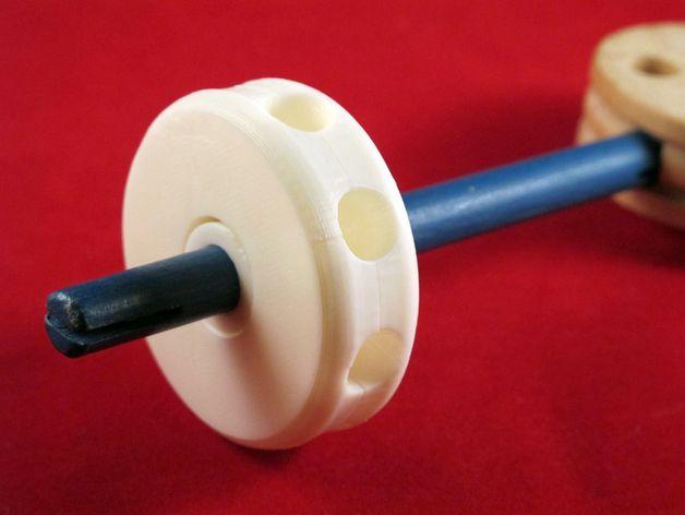 Tinkeriffic滚珠承轴模型 3D打印模型渲染图