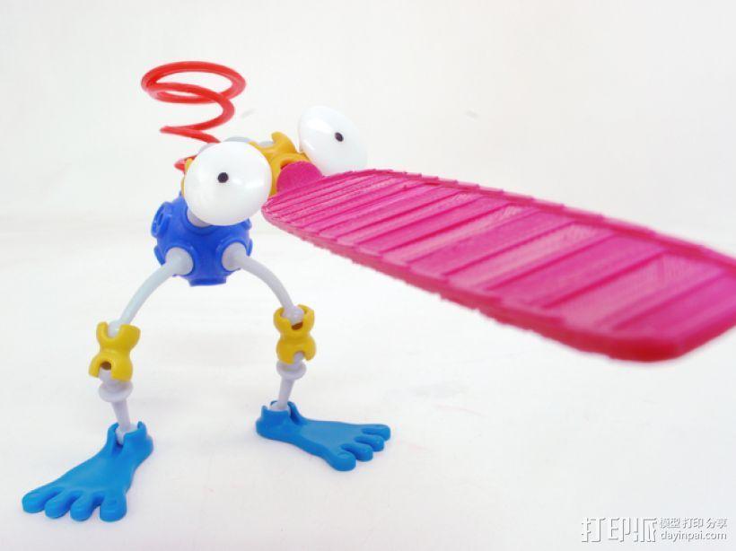 Ogo桨板模型 3D打印模型渲染图