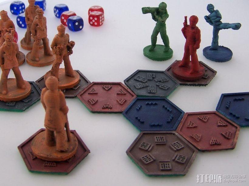 黑色炸药:柔道竞技场 3D打印模型渲染图
