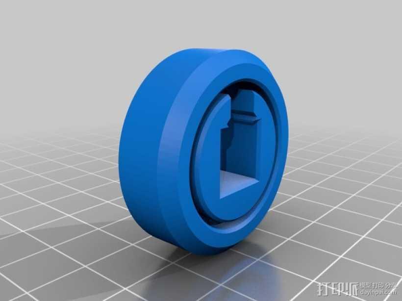 滚柱轴承 3D打印模型渲染图