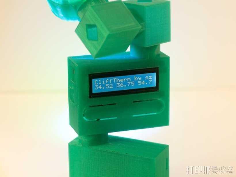 热量测试器 3D打印模型渲染图