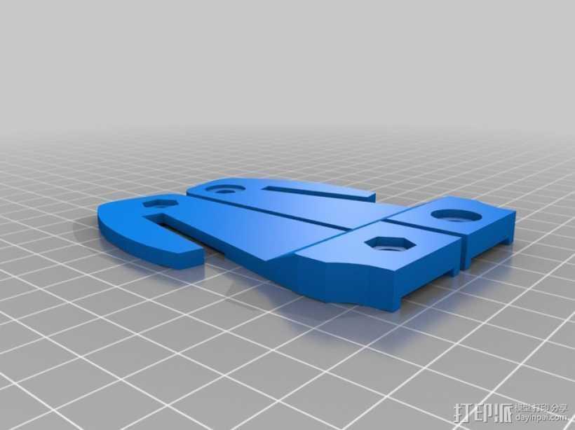 汽车安全锤 3D打印模型渲染图