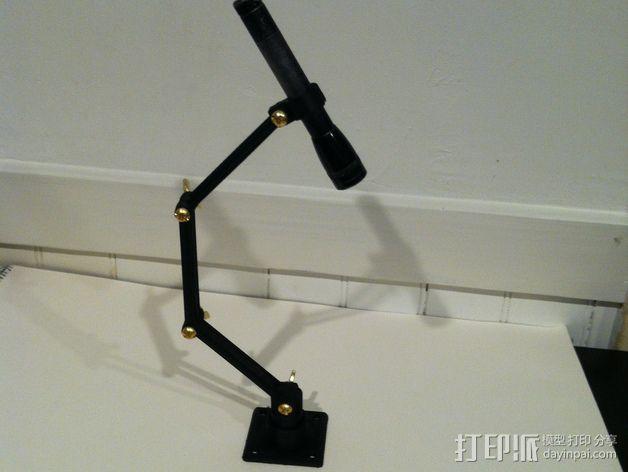 工作灯 3D打印模型渲染图