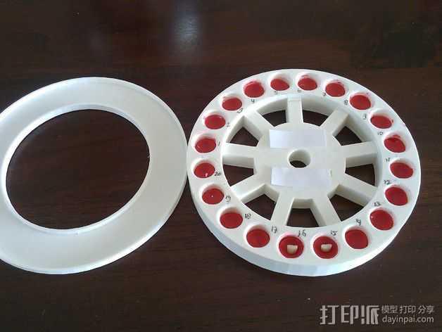 乳牙盒 3D打印模型渲染图