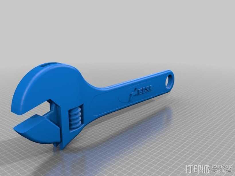 手工具 3D打印模型渲染图