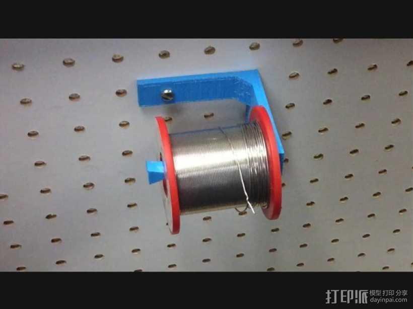 焊辊支架 3D打印模型渲染图