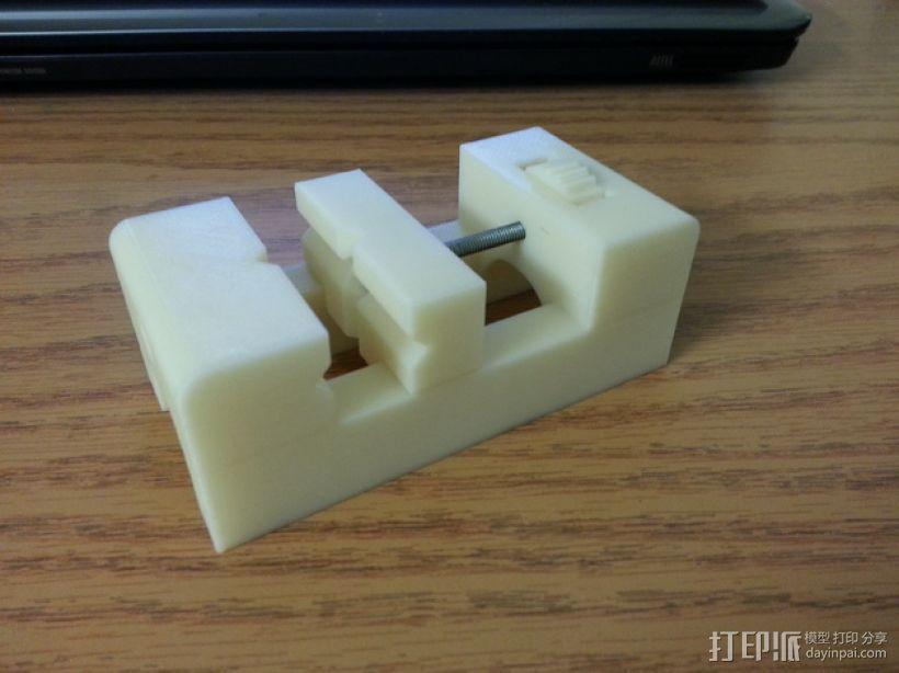 台钳 3D打印模型渲染图
