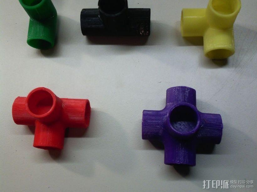 机械配件  3D打印模型渲染图