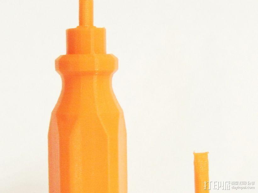 螺丝刀 3D打印模型渲染图