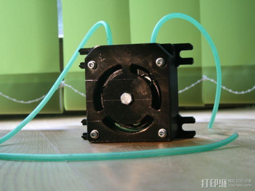 蠕动泵/软管泵 3D打印模型渲染图