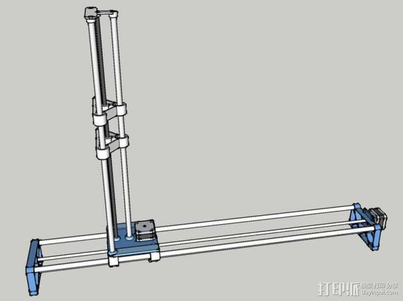 切割机 3D打印模型渲染图