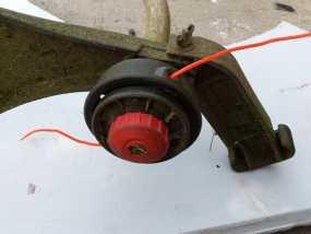 重型割草机凹凸头旋钮