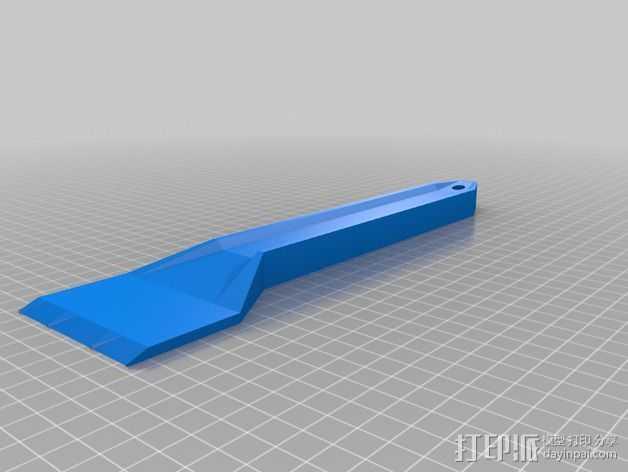 多功能刮刀  3D打印模型渲染图