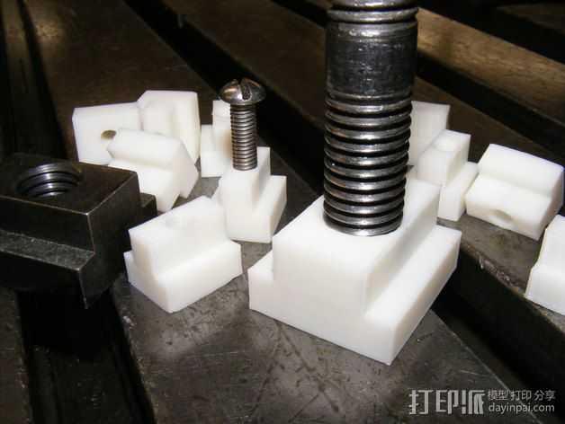 定制化T型螺母 3D打印模型渲染图