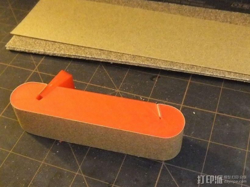 打磨块 3D打印模型渲染图