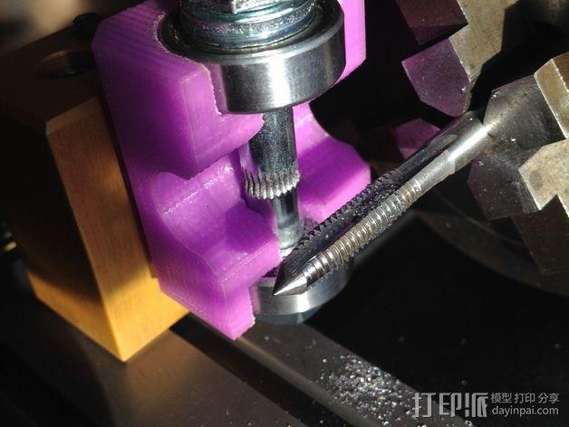车床螺丝滚刀固定架 3D打印模型渲染图