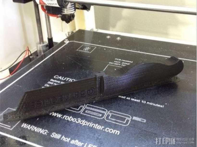 Barna拆箱工具 3D打印模型渲染图