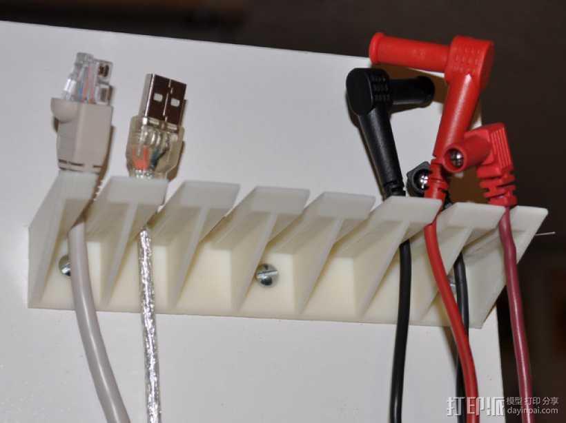 探针/线缆支架 3D打印模型渲染图